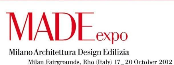2012 ВЫСТАВКА В МИЛАНЕ «MADE EXPO»
